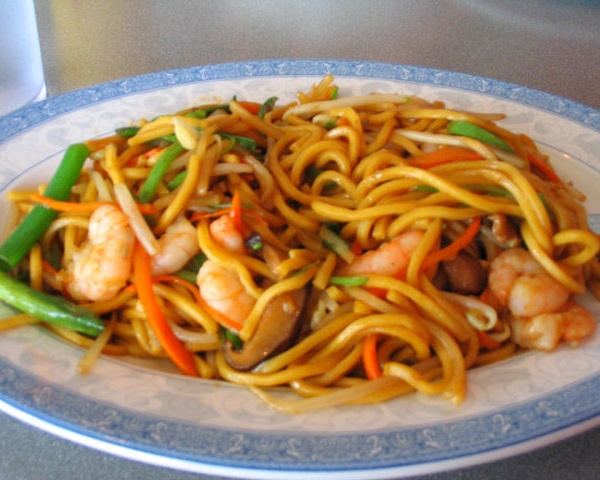 2. Shrimp Lo Mein