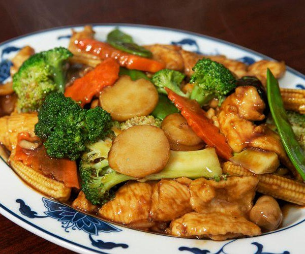 46. Chicken w. Mixed Vegetables Image