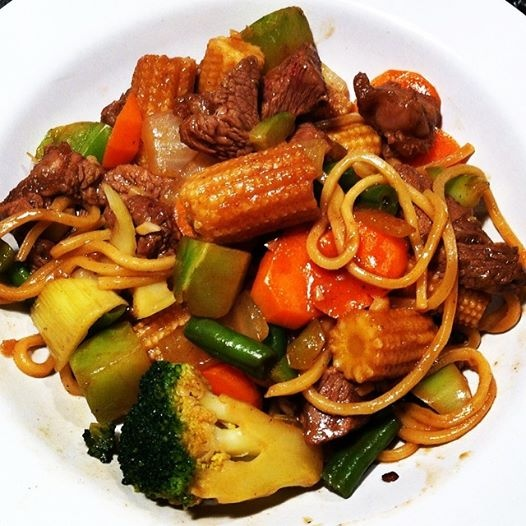 67. Beef w. Chinese Vegetable