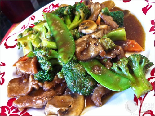 21. Beef w. Mixed Vegetables Image