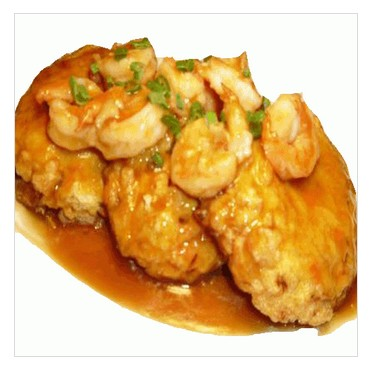 41. Shrimp Egg Foo Young
