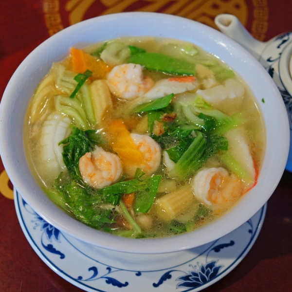 22. Seafood Soup