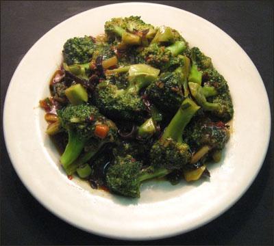 104. Broccoli w. Garlic Sauce Image