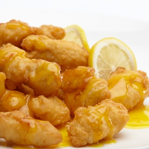 6. Honey Chicken