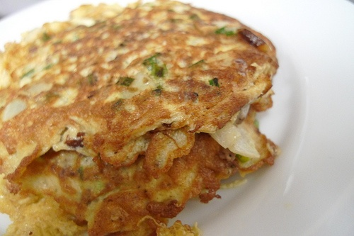 40. Chicken Egg Foo Young