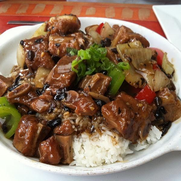 62. Roast Pork w. Pepper & Onions Image