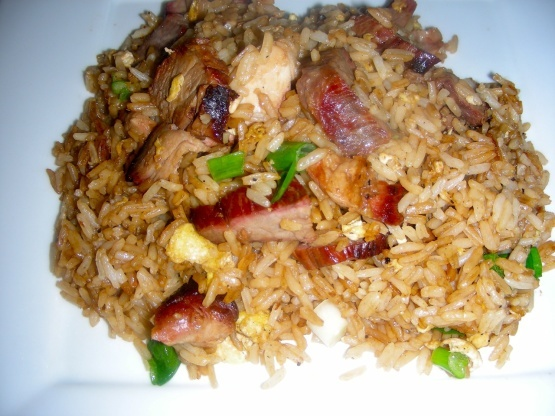 27a. Roast Pork Fried Rice Image