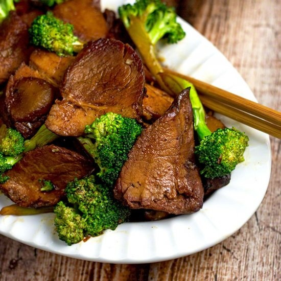 59. Roast Pork w. Broccoli Image