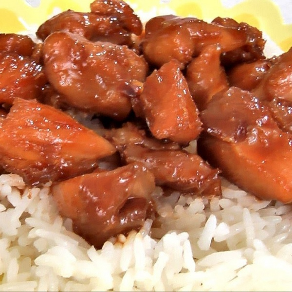 C28. BOURBON CHICKEN Image