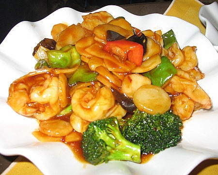 90. Shrimp w. Garlic Sauce Image