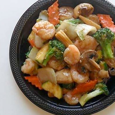79. Shrimp w. Chinese Vegetable