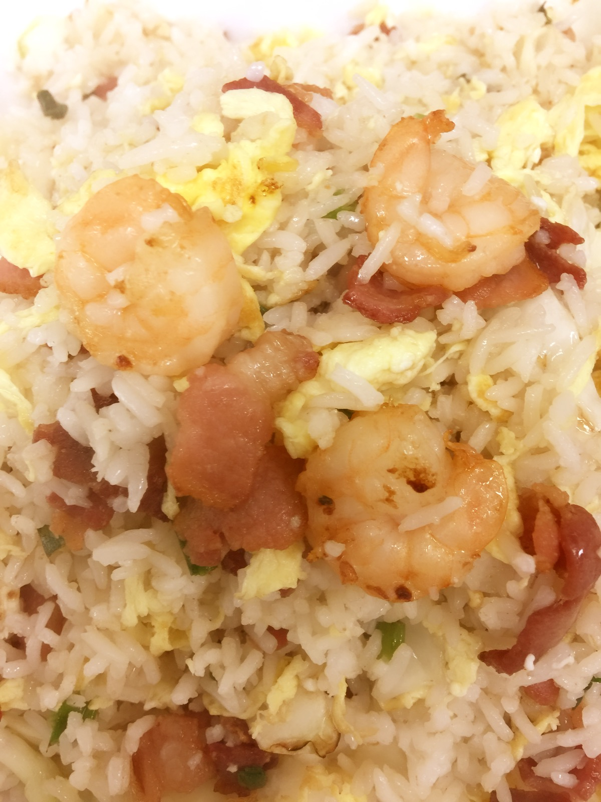 ShangHai Fried Rice(shrimp&bacon,cabbage)