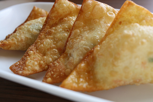 6. Fried Crab Meat Wonton (8)