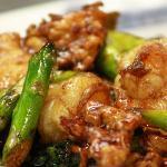 Sauteed Asparagus Shrimp Image