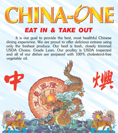China One - Winston-Salem