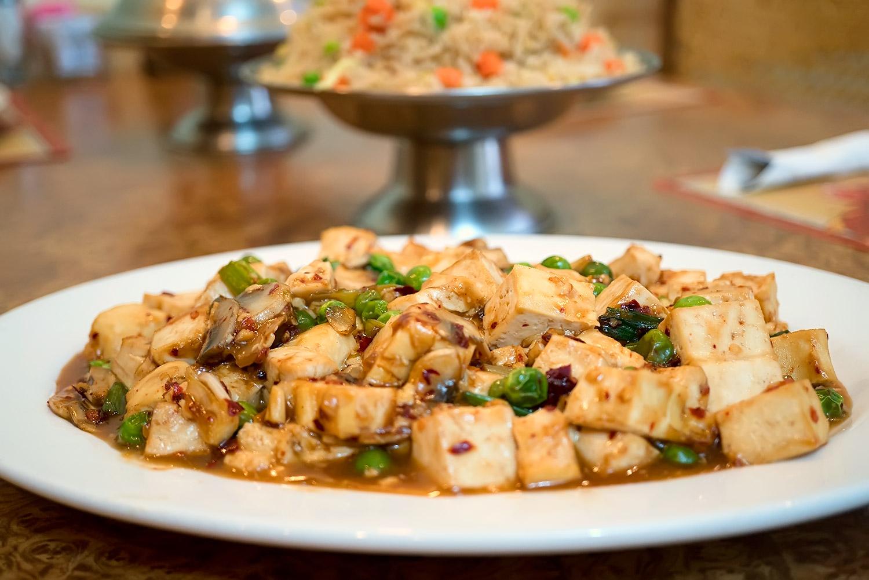 Spicy Bean Curd (Tofu) Image