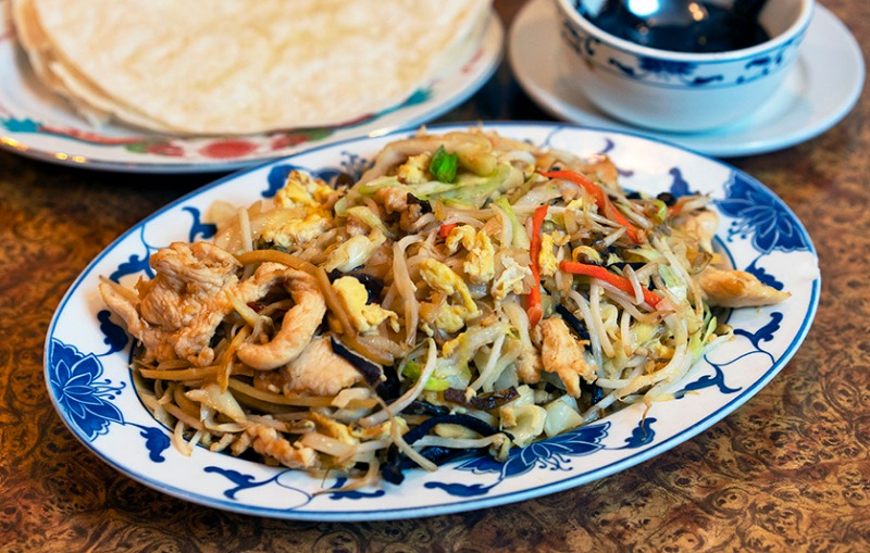 Moo Shu Chicken Image