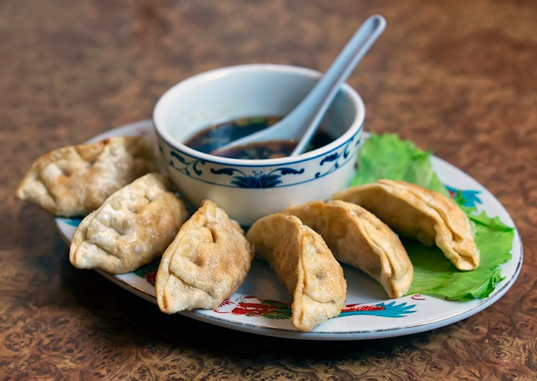 Fried Pot Stickers (6) Image