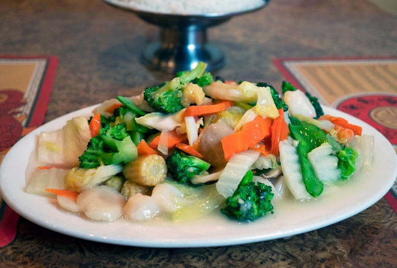 Scallops with Vegetables Image