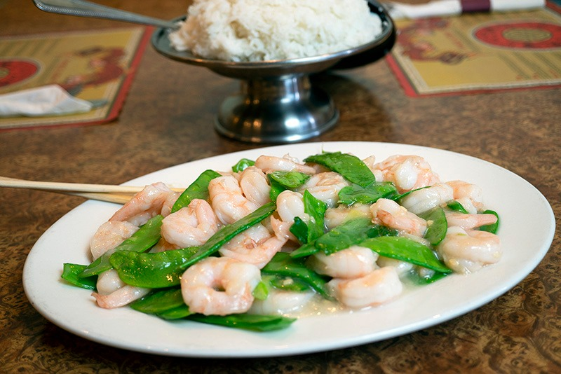 Shrimp with Pea Pods Image