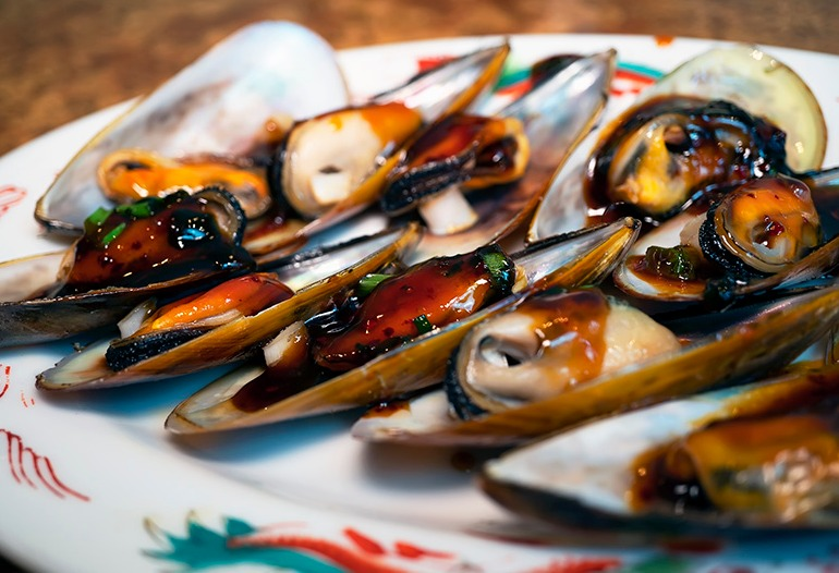 Chinese Mussels Image