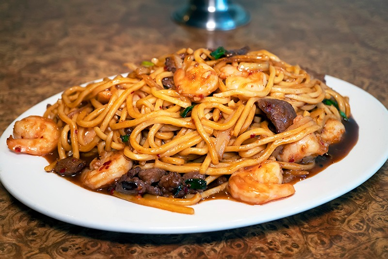 Mongolian Noodles Image