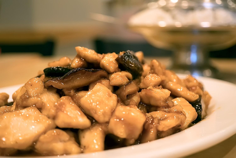 Black Mushroom Chicken