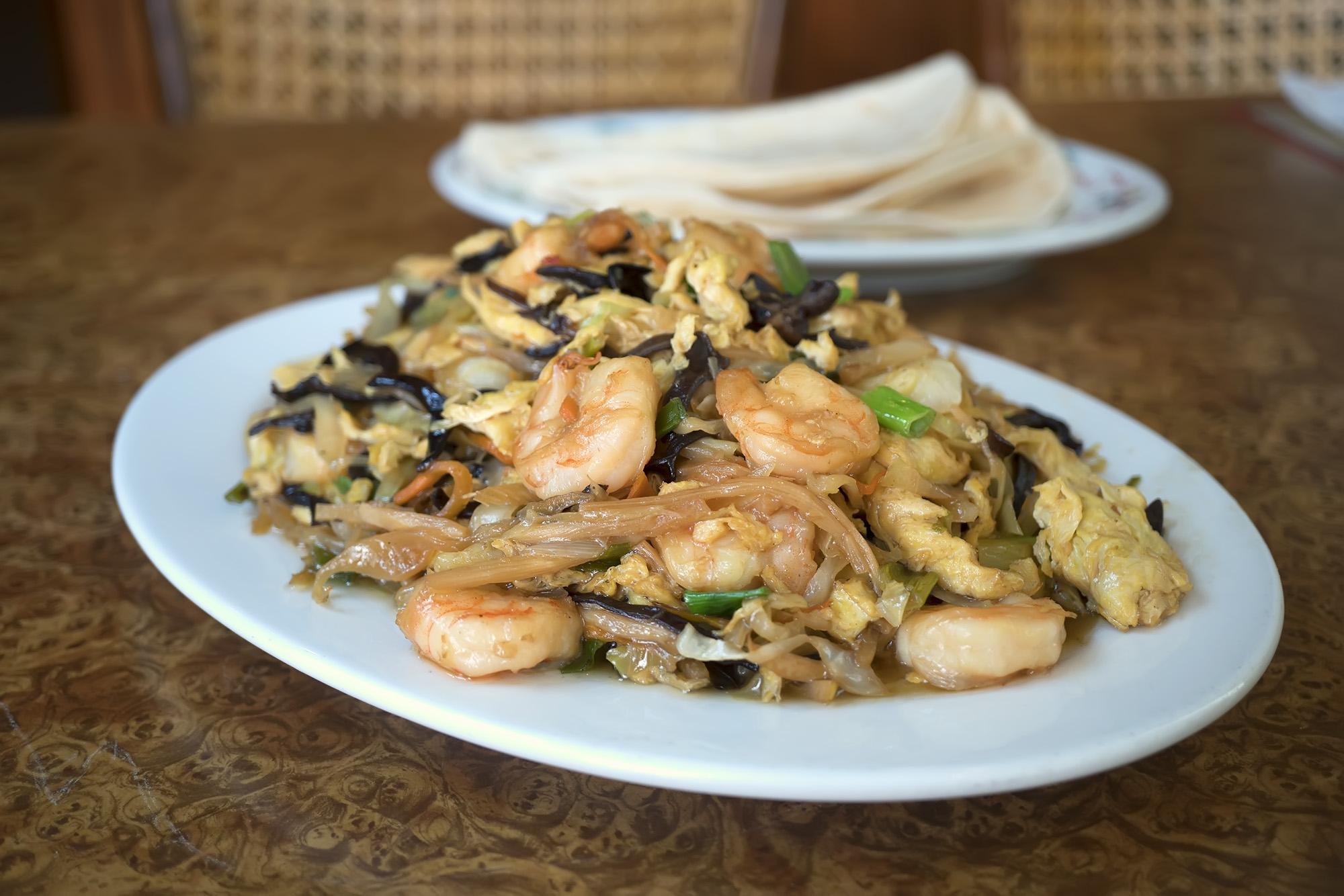 Moo Shu Shrimp Image