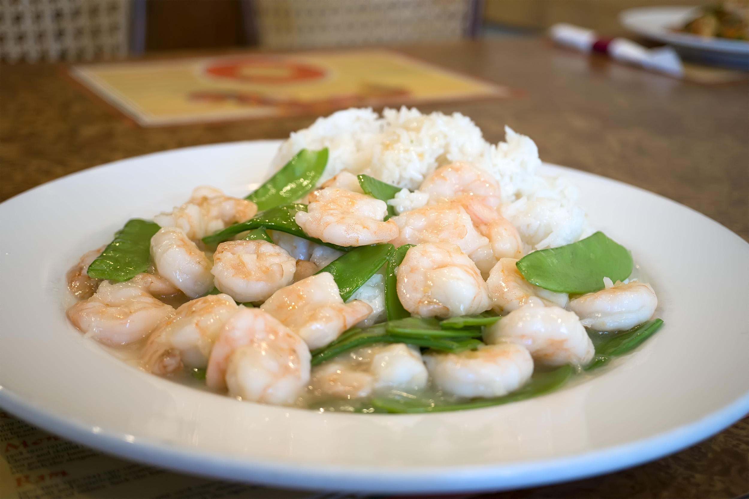 14. Shrimp with Pea Pods Image