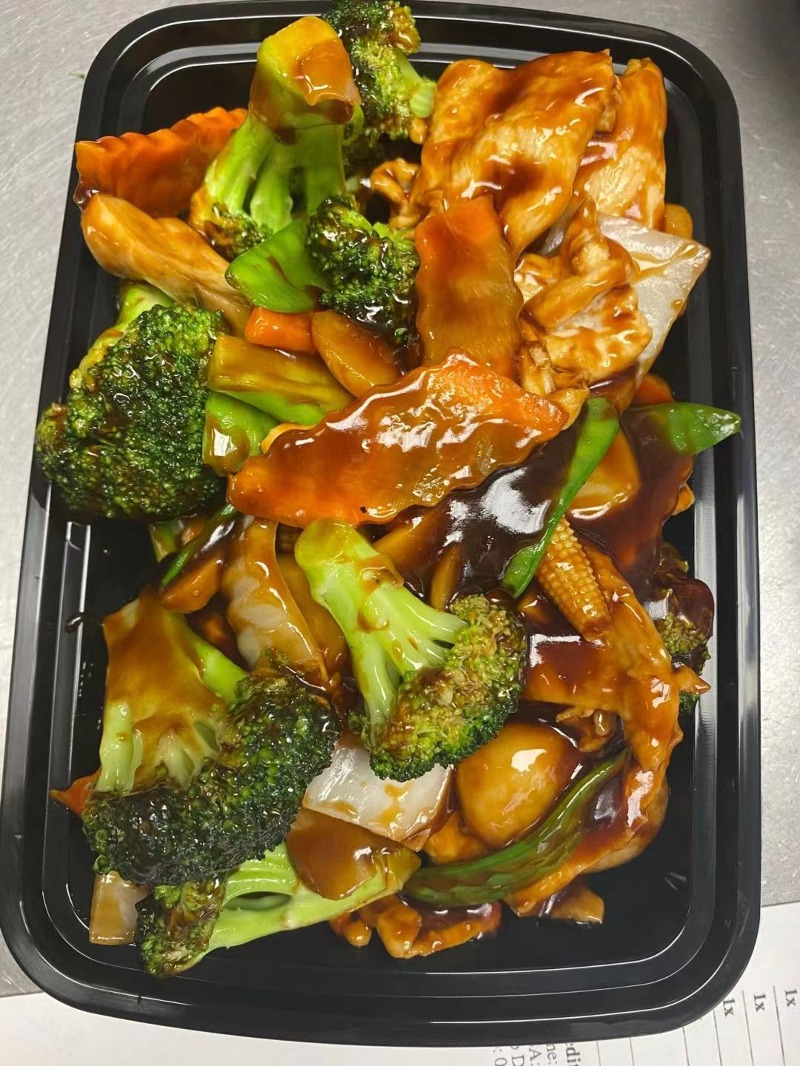 107. Chicken with Mixed Vegetables