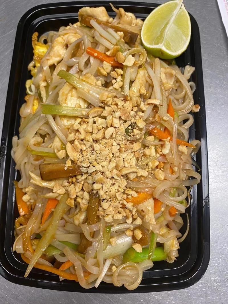 S19. Pad Thai Noodles