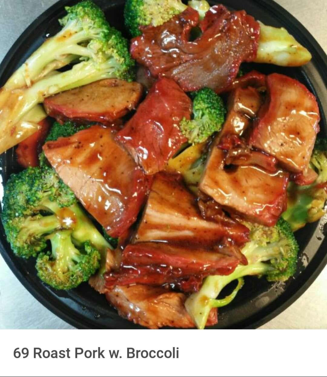 69. Roast Pork w. Broccoli Image