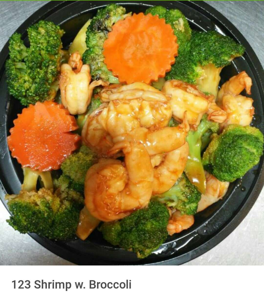 123. Shrimp w. Broccoli