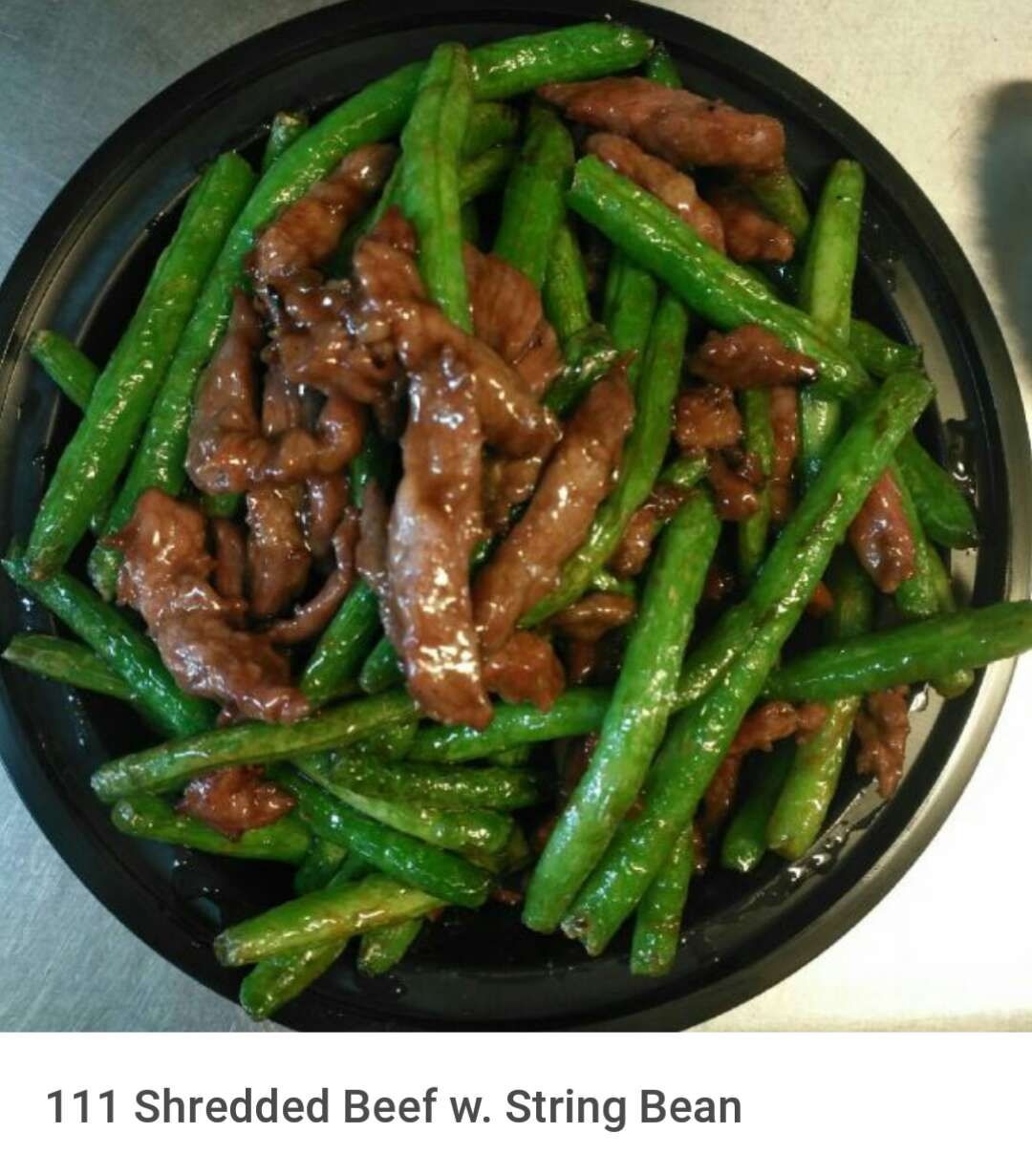 111. Shredded Beef w. String Bean