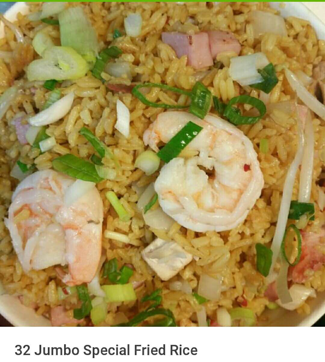 32. Jumbo Special Fried Rice