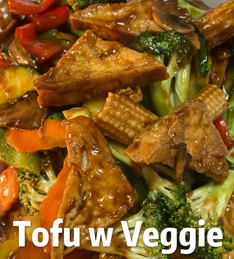 Tofu with Mixed Vegetable