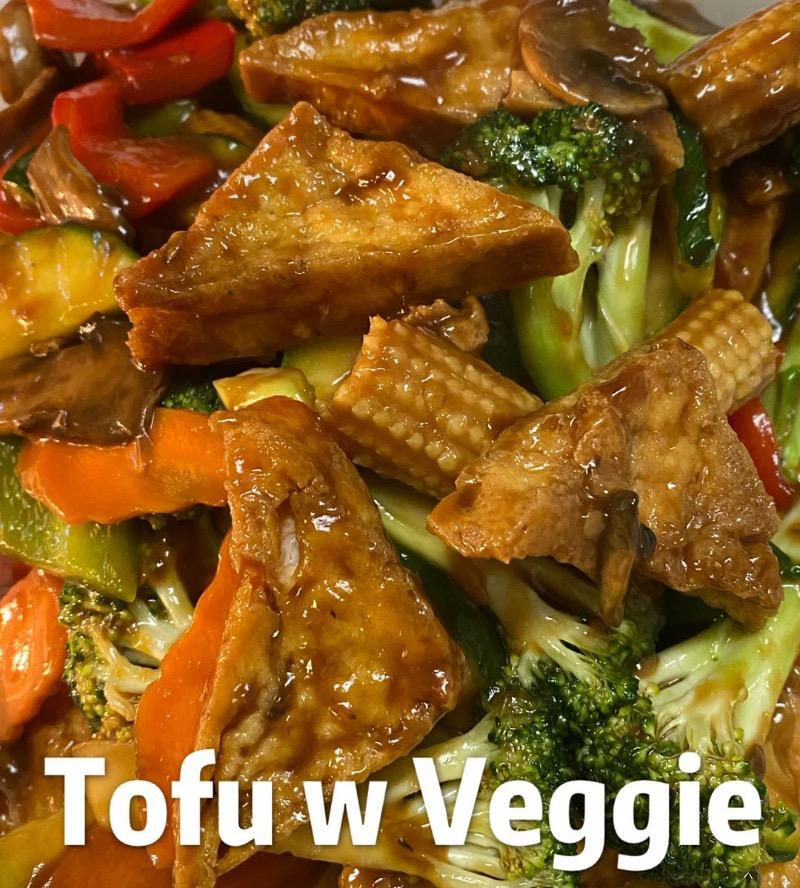 Tofu with Mixed Vegetable Image