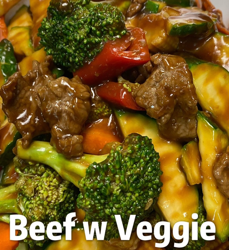 Beef with Mixed Vegetables Image