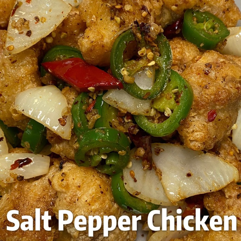 Salt Pepper Chicken