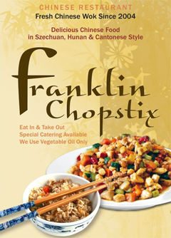 Chopstix Chinese - Franklin