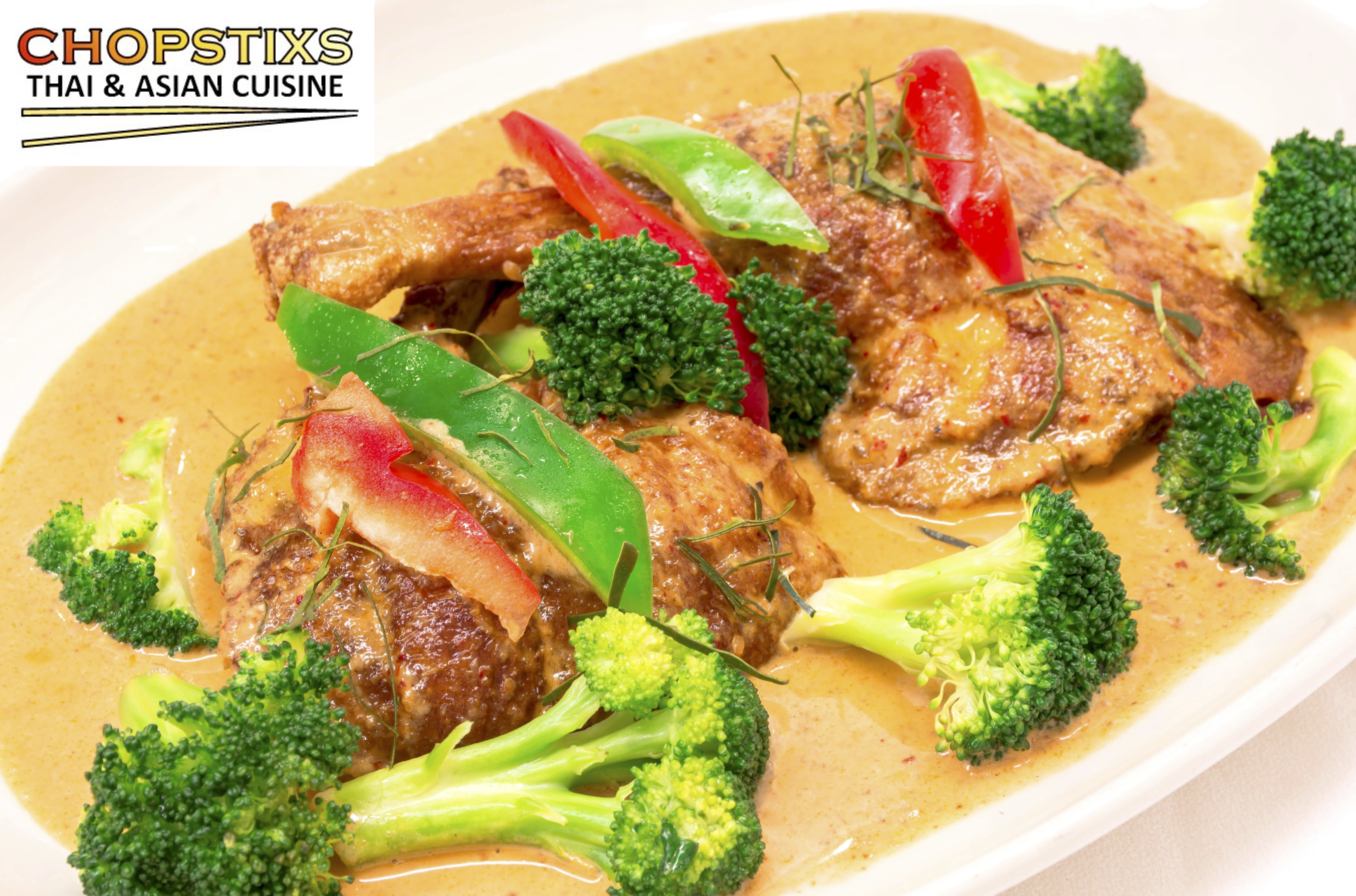 Panang Duck Curry Image