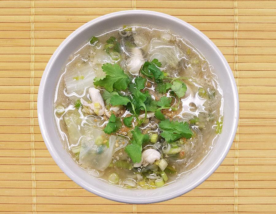Kang Woon Sen (Glass noodle soup) Image