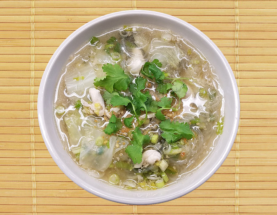 Kang Woon Sen (Glass noodle soup) Image