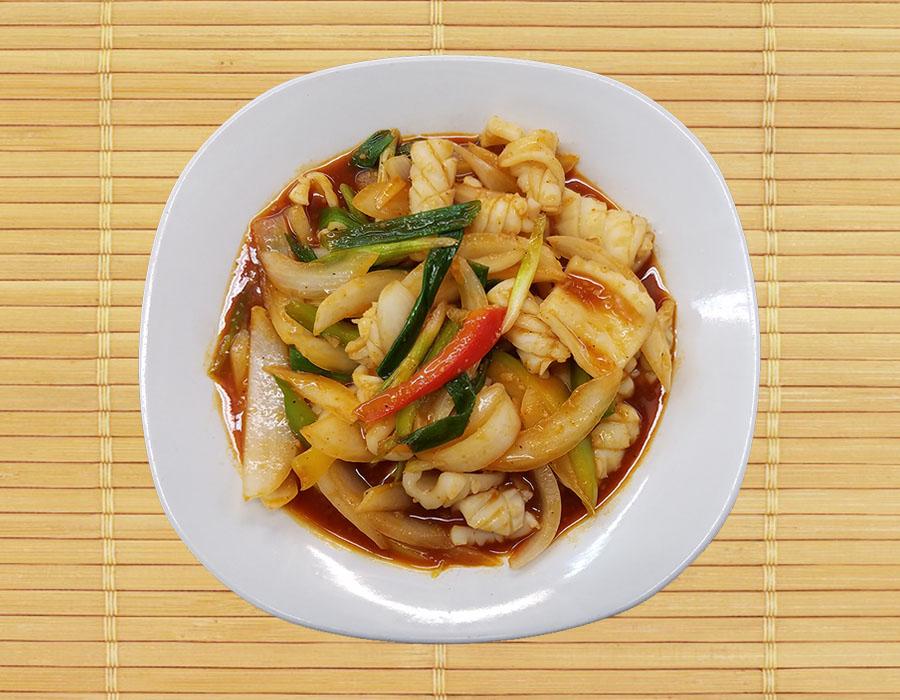 Pla Muk (Squid) Pud Prig Image