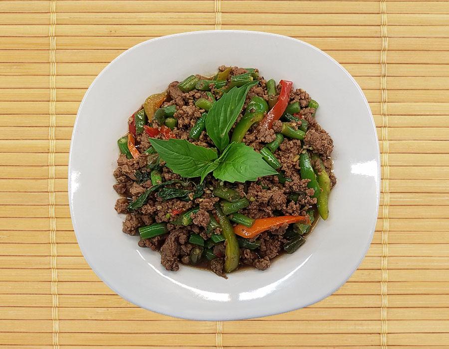 Pud Bi Gra Prow (Spicy Basil) Image