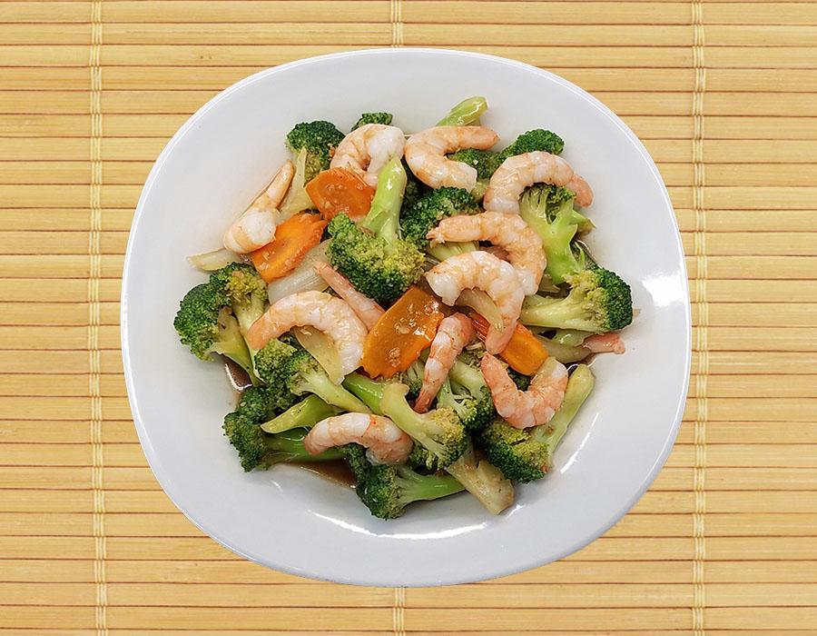 Small Shrimp Broccoli Image