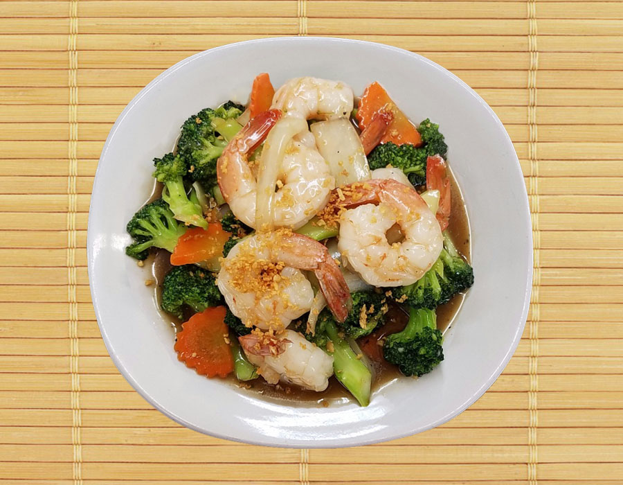 Big Shrimp Broccoli Image