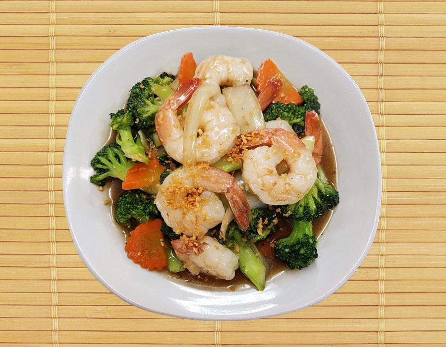 Big Shrimp Broccoli Image