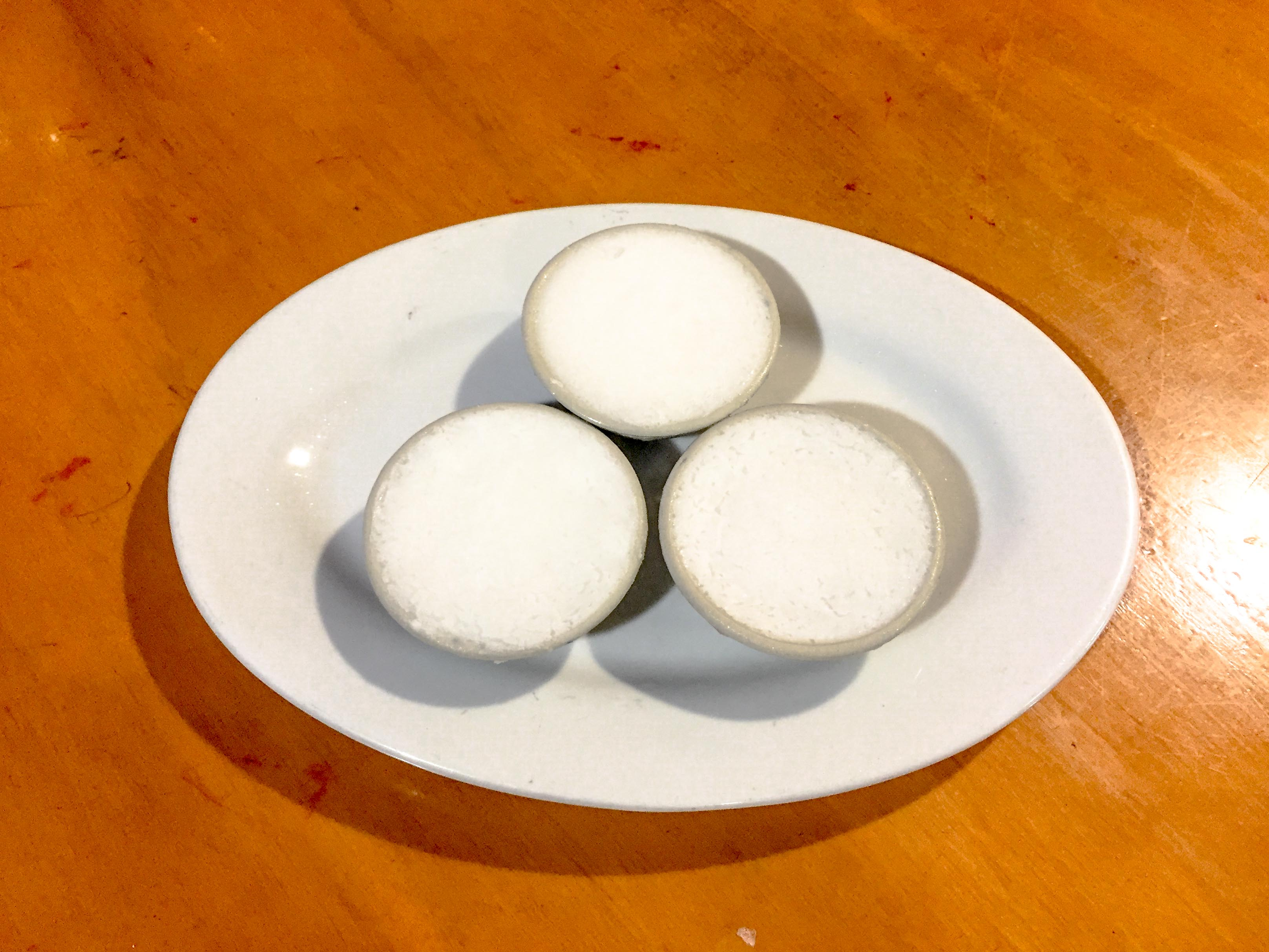 Coconut pudding (Kanom Tuay)