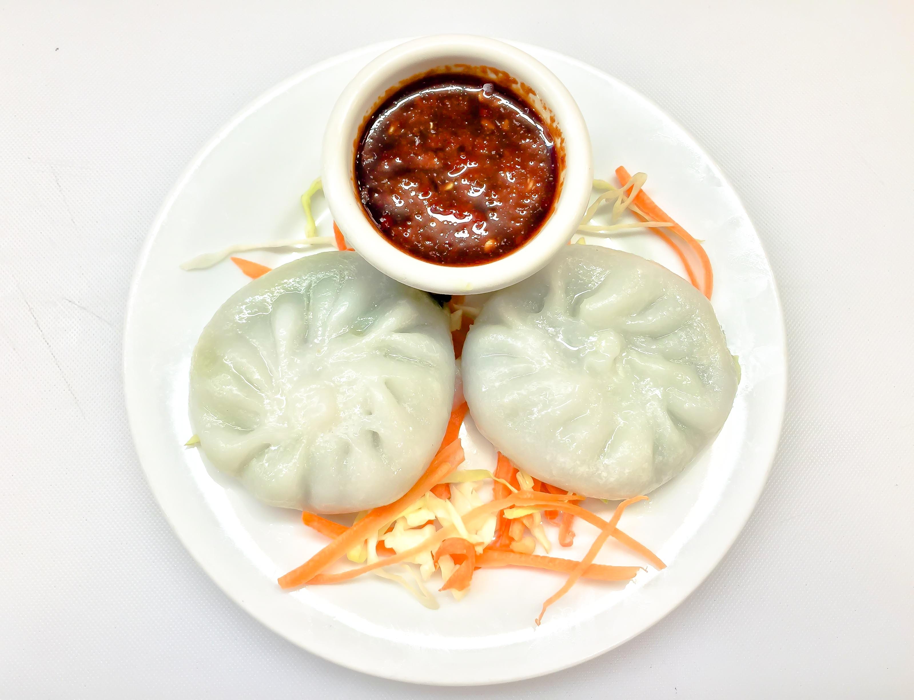 Steamed Vegetable Dumplings 3pcs Image